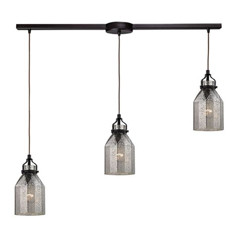 pendant lighting fixture elk 46009 3l danica modern rubbed bronze multi pendant