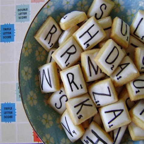 edible scrabble scrabble tiles cookies edible crafts