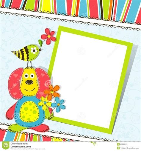 greeting card with photo template greeting card template business letter template