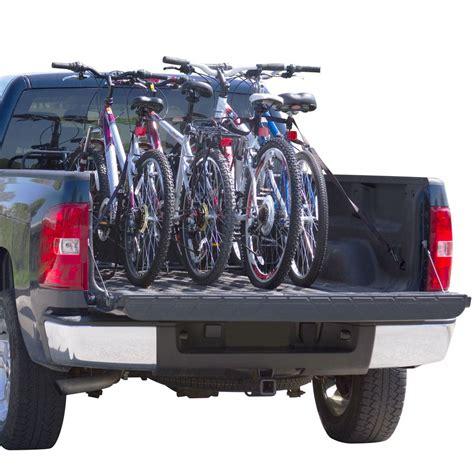 bike holder for truck bed 4 bike universal truck bicycle rack by apex discount rs