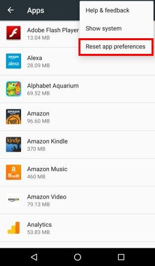 reset default apps android how to manage use and reset default apps in android marshmallow android guides