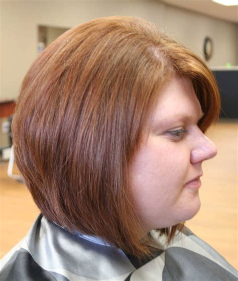 rounded head hairstyles female stacked bob haircuts for round faces hairstyles ideas