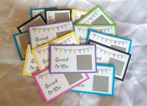 Things To Make And Do With Paper - things to make and do scratch cards
