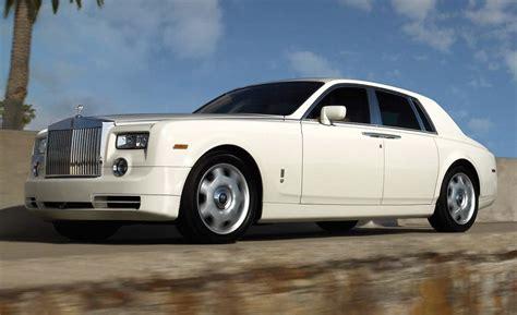 rolls royce phantom sedan car and driver