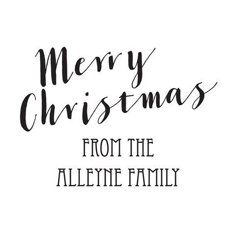 merry christmas script stamptastic uk