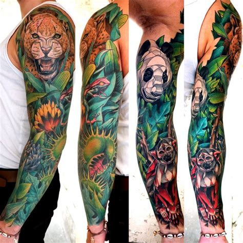 tattoo jungle 50 best jungle theme tattoos images on