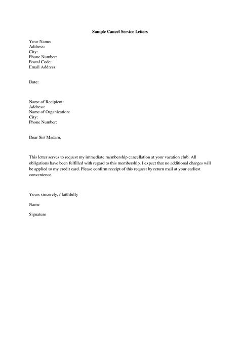 Service Letter Format Sample   Best Template Collection