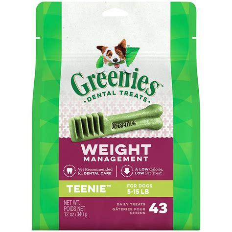 weight management treats greenies weight management dental treats for dogs 12 oz