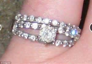 woman wedding rings
