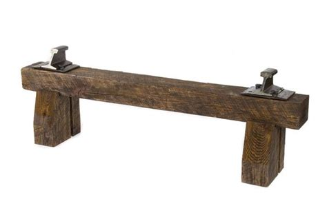 Dining Room Table Wood by Railroad Tie Bench Inner Design Pinterest We Dining