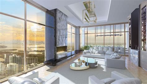 H2o Residences Floor Plan by Miami Luxury Real Estate Acqualina Mansions Luxury