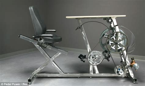 lay down desk the exercise bike office desk generates enough electricity