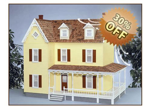 doll house kit dollhouse kits victorian dollhouse kits quickbuild