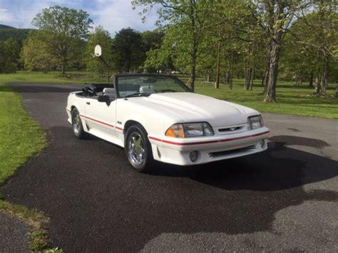 1990 25th anniversary mustang 1990 mustang gt convertible 25th anniversary