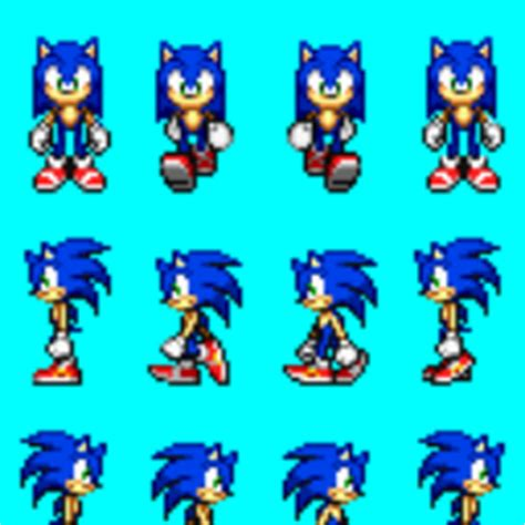 animated sonic sprites pictures images photos photobucket sonic rpg walking sprite pictures images photos
