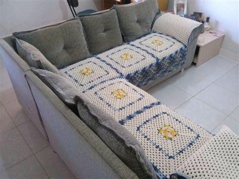 capa de sofa de canto em croche capa para sof 225 de canto em barbante no elo7 elienes de