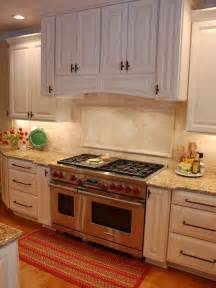 Timeless Kitchen Backsplash - tumbled travertine backsplash home design ideas pictures remodel and decor