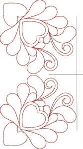 original embroidery machine quilting designs set 7