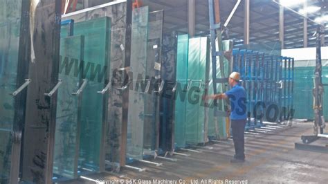 glass tools pulling type manual glass racking systems