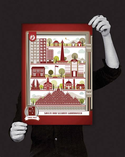 design poster indonesia gunnebo poster design on behance