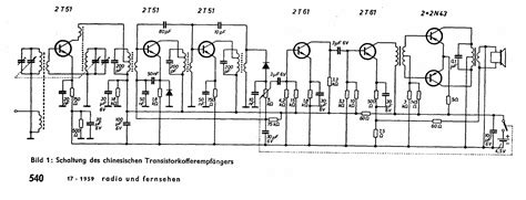 transistor wiring diagram transistor radio schematic ladybird transistor radio by