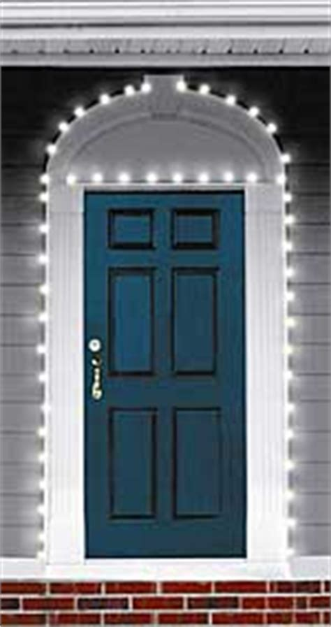 Solar Powered Front Door Light Solar Powered White Blue Light Kit Yard Garden Buy It Now
