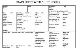 nursing brains template the 10 best brain sheets scrubs the leading
