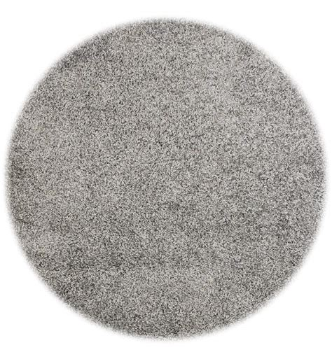 Grey Circle Rug by Shaggy Rugs In Grey