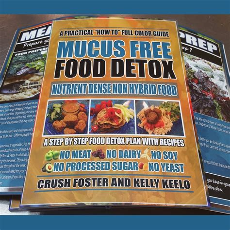 Mucus Detox by Mucus Free Food Detox Paperback Guide Alkaline Eclectic
