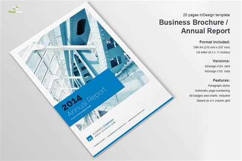 business brochure template business brochure annual report brochure templates