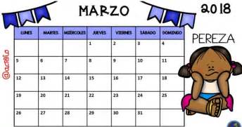 Calendario Lunar Marzo 2018 Calendario 2018 Para Imprimir Anual Mensual Escolar