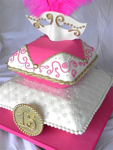 masquerade themed quinceanera cakes masquerade quinceanera cake cakecentral com