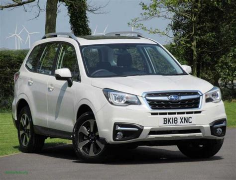 Subaru Outback 2020 Uk by 2020 Subaru Forester