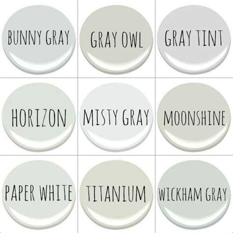 benjamin bunny gray gray owl gray tint horizon gray moonshine paper white