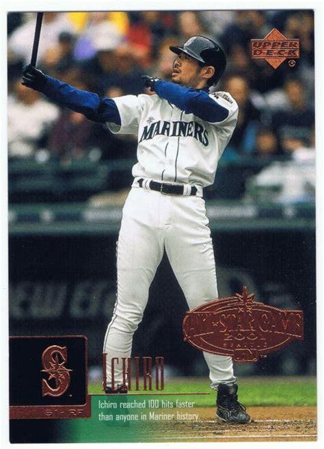 Ichiro Suzuki 2001 Suzuki Ichiro 2001 Upperdeck Evolution All