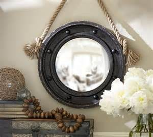 pottery barn rope mirror the 25 best ideas about porthole mirror on