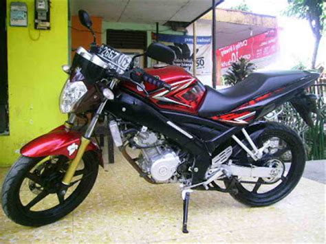Vixion Black Modification by New Bike Modification Yamaha V Ixion Modified Satria