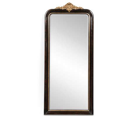 black mirror length black gilded mirror full length