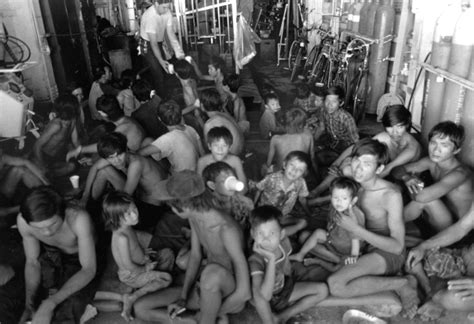 vietnamese refugee boat file processed vietnamese refugees jpg wikipedia