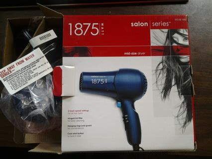 Hair Dryer Repair Los Angeles free salon series hair dryer hair supplies listia auctions for free stuff