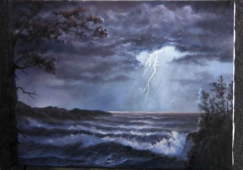 acrylic painting kevin create this lighting painting along with kevin hill for