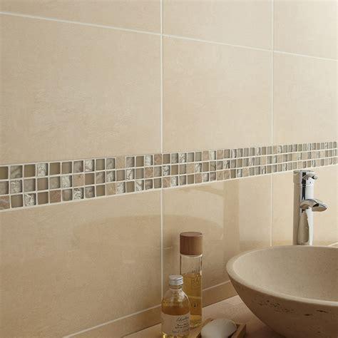 Exceptionnel Idee Mosaique Salle De Bain #2: mosaique-mur-fusion-feta-beige.jpg