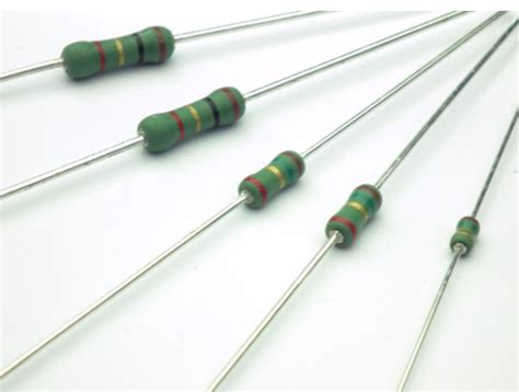 fixed value resistor application rdf rdmf flameproof carbon fixed resistors akahane electronics industry
