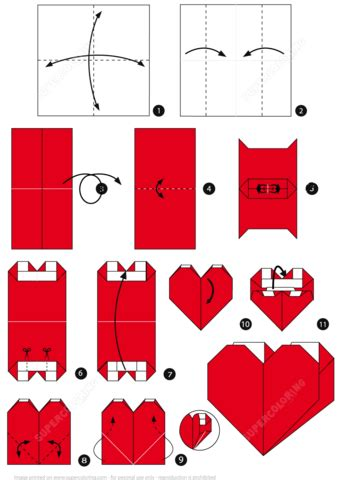 printable origami heart instructions origami heart pocket instructions free printable