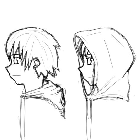 how to draw hoodies hoodie anime drawing www pixshark images galleries