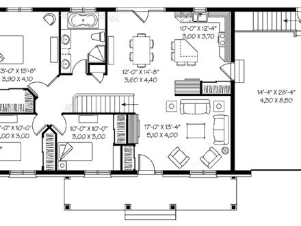 1 bedroom bungalow floor plans cape cod house bungalow house with 3 bedrooms 3 bedroom