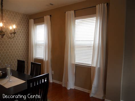curtains for dining room windows decorating cents dining room curtains