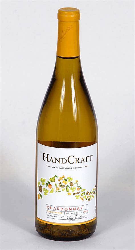 Handcraft Winery - wine of the week handcraft chardonnay 2010