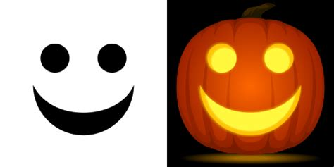 Happy Pumpkin Template by Smiley Printable Template Clipart Best