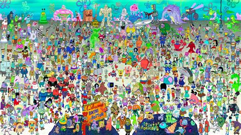 Gambar Poster Sponge Bob the 10 best spongebob squarepants characters luwd